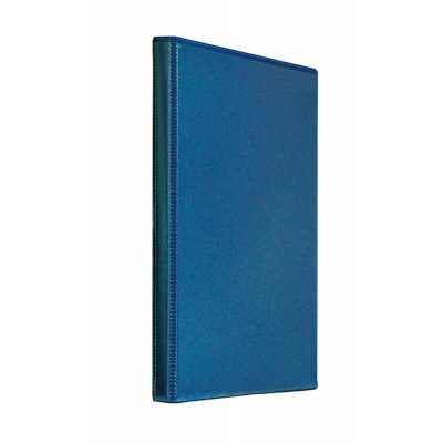 Регистратор Панорама Panta Plast А4/4R 25мм, темно-синий