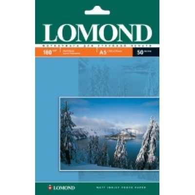 Фотобумага Lomond А5 180 г/м2 матовая 50л.
