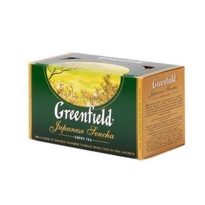 Чай Greenfield Japanese Sencha зеленый 25п*2г