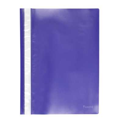 Скоросшиватель пластиковый  Axent A4, синий