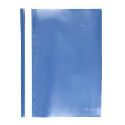 Швидкозшивач пластиковий Axent A4, блакитний