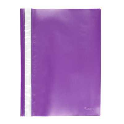 Скоросшиватель пластиковый  Axent A4, фиолетовый