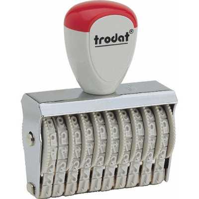 Нумератор стрічковий Trodat 6-розрядний, 4 мм