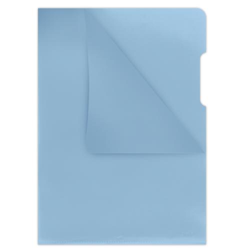 Папка-уголок 180мкм А4 Donau, синий