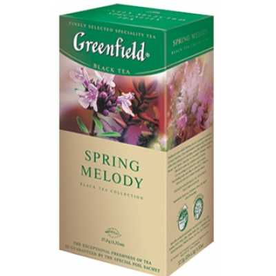 Чай Greenfield Spring Melody чорний 25п * 1,5г