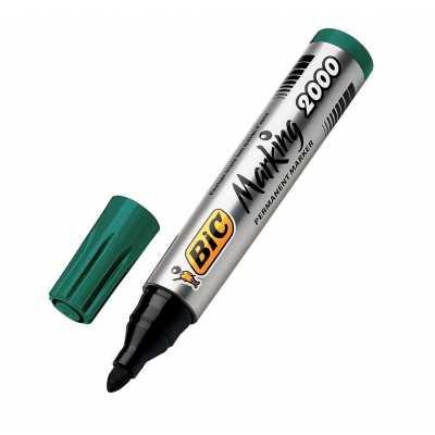 Маркер перманентний BIC 2000 зелений