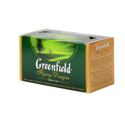 Чай Greenfield Flying Dragon зелений 25п * 2г