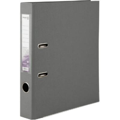 Регистратор двусторонний Axent А4/5 см, серый