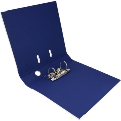 Регистратор двусторонний Axent А4/7,5 см, синий