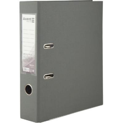 Регистратор односторонний Axent А4/7,5 см, серый