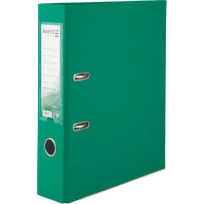 Регистратор односторонний Axent А4/7,5 см, зеленый
