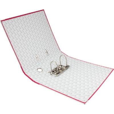 Регистратор односторонний Axent А4/7,5 см, розовый