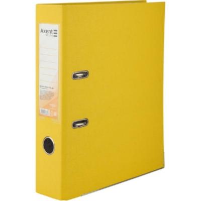 Регистратор односторонний Axent А4/7,5 см, желтый