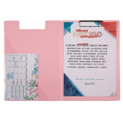 Папка-планшет 2514-10-A, Pastelini, А4, розовая