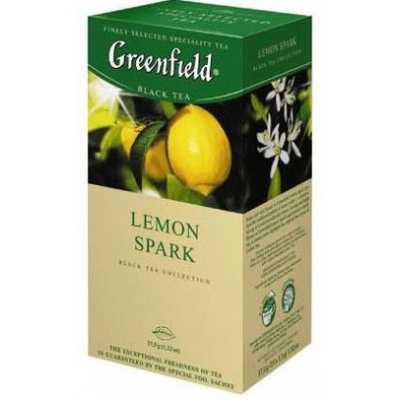 Чай Greenfield Lemon Spark черный 25п*1,5г
