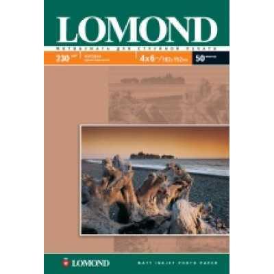 Фотопапір Lomond 10х15см 180 г / м2 матовий 50л.