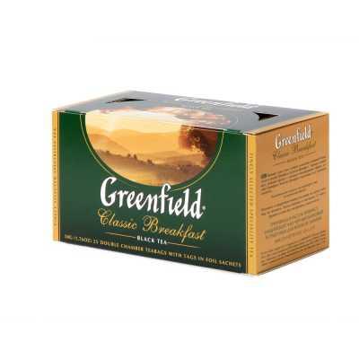 Чай Greenfield Classic Breakfast чорний 25п * 2г