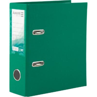 Регистратор А5 односторонний Axent 7,5cм, зеленый