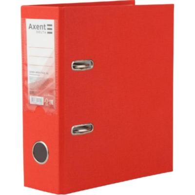 Регистратор А5 односторонний Axent 7,5cм, красный