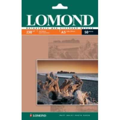 Фотопапір Lomond А5 230 г / м2 матовий 50л.