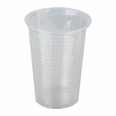 Склянки пластикові 100мл 100шт., прозорі
