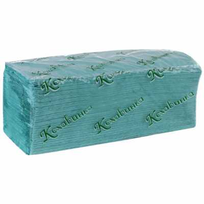 Рушники паперові  1 шар 200шт. сині