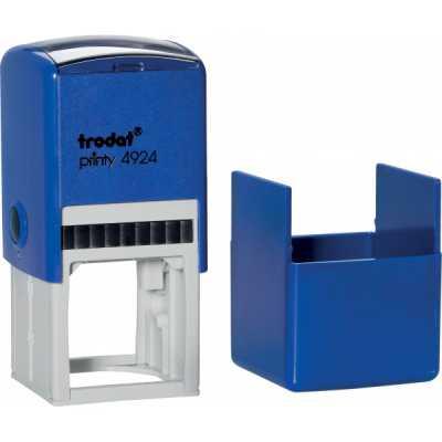 Оснастка для круглой печати Trodat 4924 (4940), синяя
