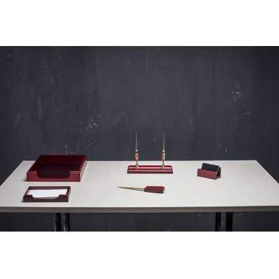 Набір настільний 5 предметов, червоне дерево (5159XDU)
