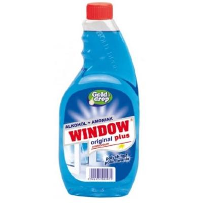 Средство для стекла Window Plus  500 мл сменный