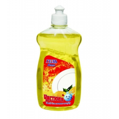 Средство для мытья посуды Чистюня 500мл Лимон