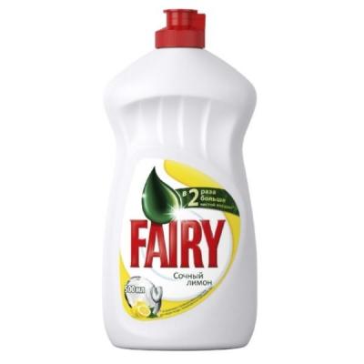 Средство для мытья посуды FAIRY 500мл Лимон