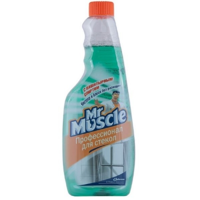 Средство для стекла Мистер Мускул 500 мл сменный
