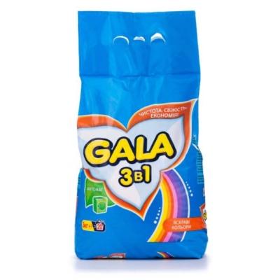 Стиральный порошок GALA 3 кг автомат