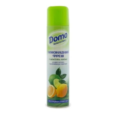 Освежитель воздуха аэрозоль DOMO Fresh Line Лимонадный фреш 300 мл