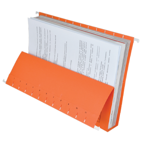 Файл підвісний картонний А4