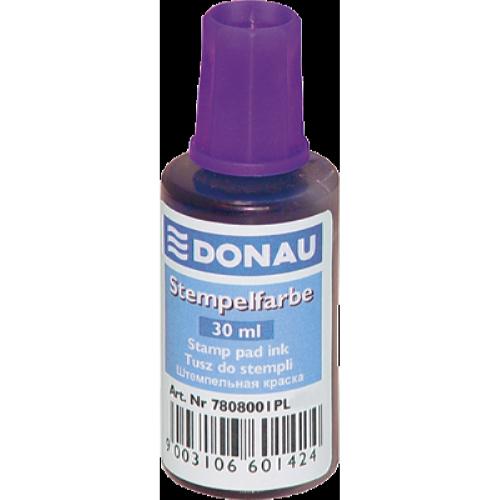 Штемпельная краска Donau 30мл, фиолетовая