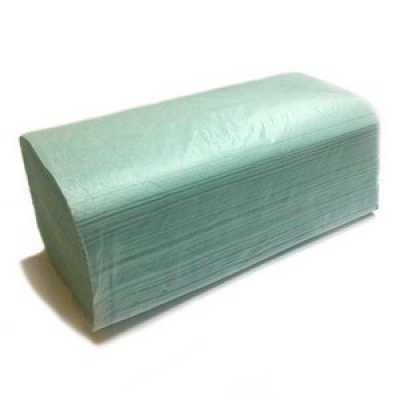 Рушники паперові  1 шар 180шт. зелені