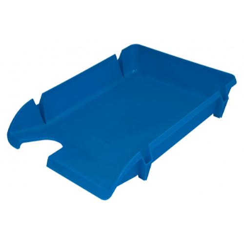 Лоток для паперів Компакт горизонтальний, блакитний (80599)