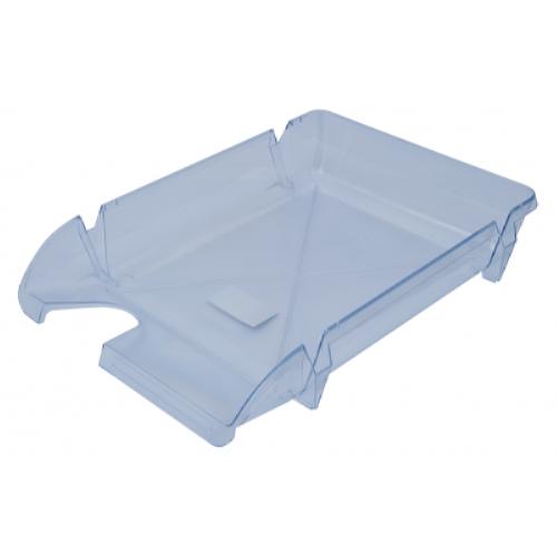 Лоток для бумаг Компакт горизонтальный, прозрачный