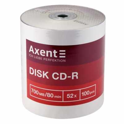 Диск Axent CD-R 700MB 52х 80min 100 шт.