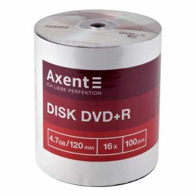 Диск Axent DVD+R 4.7Gb 16х 100 шт.