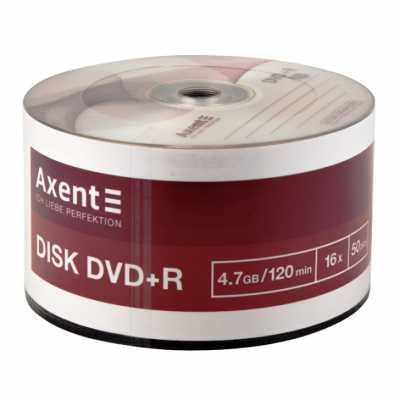 Диск Axent DVD+R 4.7Gb 16х 50 шт.