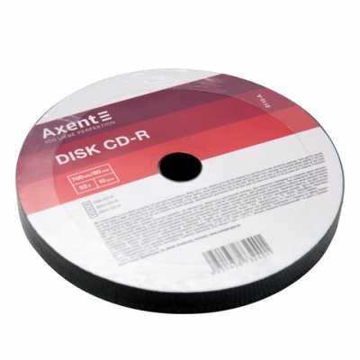 Диск Axent CD-R 700MB 52х 80min 10 шт.