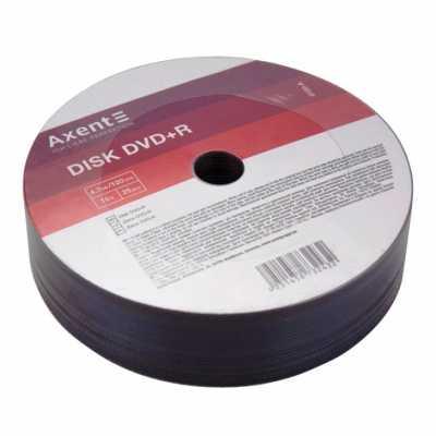Диск Axent DVD+R 4.7Gb 16х 25 шт.