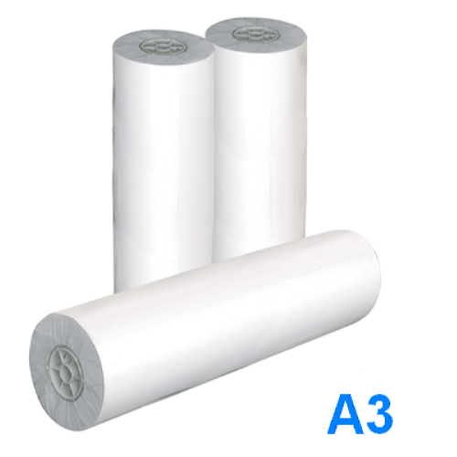 Рулон для плоттера  А3, 297мм х 175м,  плотность 80 г/м2