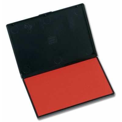 Штемпельная подушка Trodat 11х7см, красная