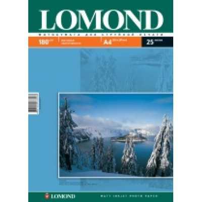 Фотопапір Lomond А4 180 г / м2 матовий 25л.