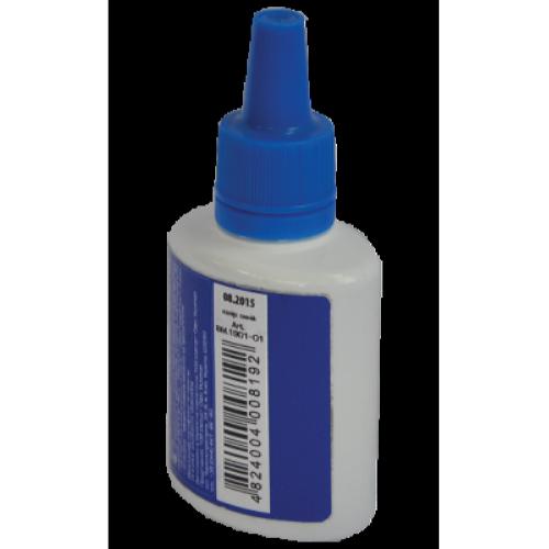 Buromax 30 мл, синяя штемпельная краска