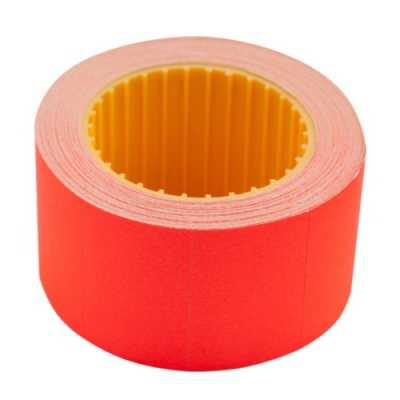 Ценник 30 * 20мм (300шт, 6м), прямоугольный, внешняя намотка, красный