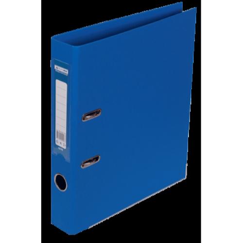 Регистратор двухсторонний Buromax А4/50мм синий